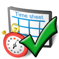 Supervisor Timesheet Approval Icon